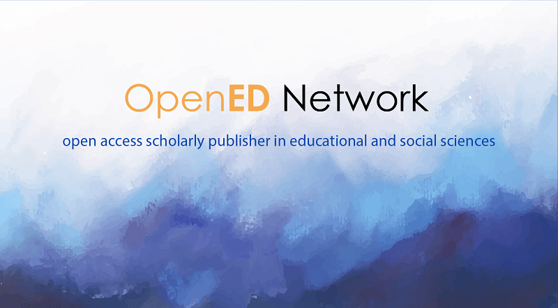 How to publish your paper in the OpenED Network Journals